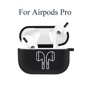 Silicone Case for Apple Airpods 1 2 Cases Cover Slogan