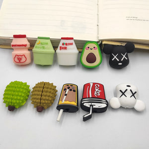 Cute Cartoon  Cable Protector For iPhone USB Charging Cable