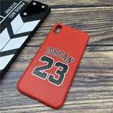 Sports brand 23 soft case for iphone 11 pro x xs max xr 8 7 6 6S plus SE 2