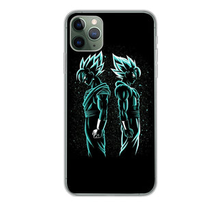 Black Art Dragon Ball Z Phone Case for IPhone
