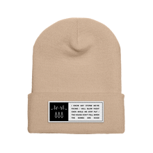 THE BONES LYRIC BEANIE
