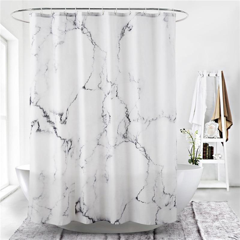 180*180cm Easy Clean Shower Curtain