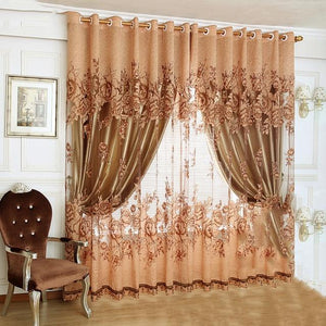 Open image in slideshow, Room Tulle curtain