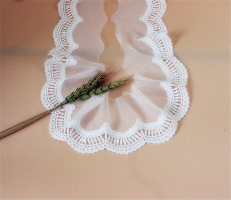 Cotton Embroidery Bud Silk Cloth