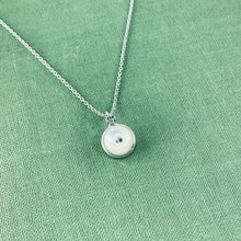 Load image into Gallery viewer, Whistle Button Charm Necklace