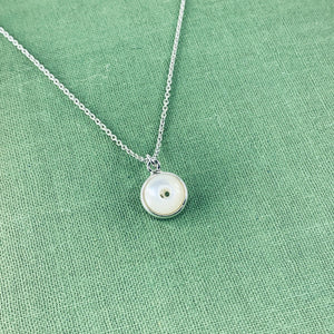 Whistle Button Charm Necklace