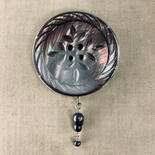 Load image into Gallery viewer, Big Button Brooch/Pendant Set