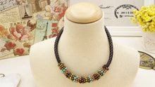 Load image into Gallery viewer, Ancient Goddess Chic Beaded Necklace - Verna Artisan Works