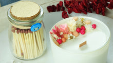 Load image into Gallery viewer, Aromatherapy Soy Candle with a with a Jar of Matches - Verna Artisan Works