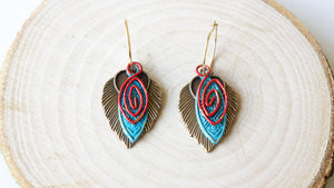 Ancient Goddess Chic Earrings - Verna Artisan Works