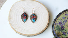 Load image into Gallery viewer, Ancient Goddess Chic Earrings - Verna Artisan Works