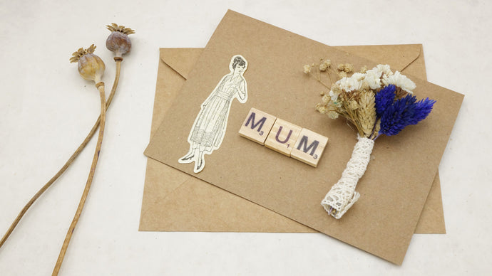 Mini Dried Flowers Bouquet Card - Mother's Day - Verna Artisan Works
