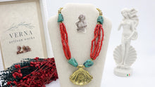 Load image into Gallery viewer, Ancient Goddess Necklace - Venus Rising - Verna Artisan Works