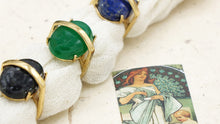 Load image into Gallery viewer, Ancient Goddess Crystal Stone Ring - Verna Artisan Works
