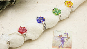 Ancient Goddess Chic Dainty Flower Ring - Verna Artisan Works