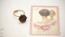 Load image into Gallery viewer, Ancient Goddess Chic - Adjustable Crystal Stone Ring - Verna Artisan Works