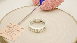 Ancient Goddess Chic - Wildflowers Ring - Verna Artisan Works