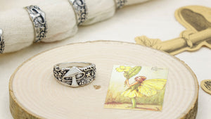 Mushroom Cottagecore Style Ring - Verna Artisan Works