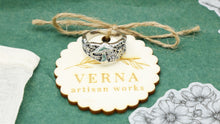 Load image into Gallery viewer, Mushroom Cottagecore Style Ring - Verna Artisan Works
