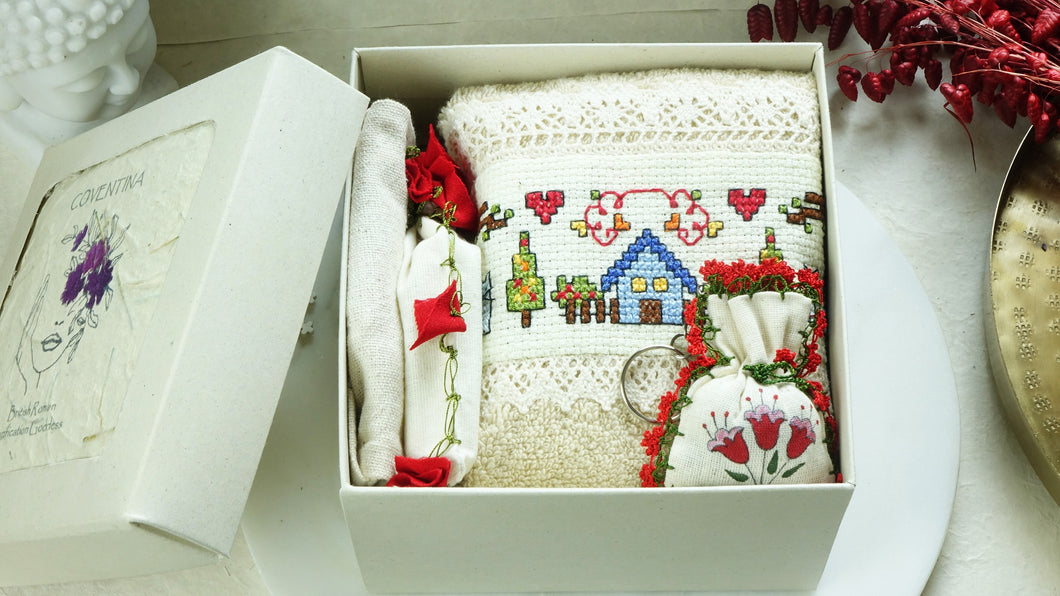Wellbeing Gift Set in a Box - Verna Artisan Works