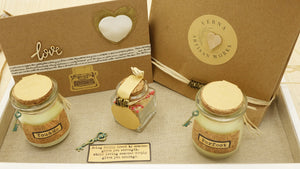 Perfect Match Candle Gift Set with a Jar of Matches - Verna Artisan Works