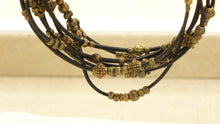 Load image into Gallery viewer, Victorian Style Rope Bracelet - Gothic - Verna Artisan Works
