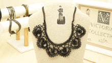 Load image into Gallery viewer, Victorian Style Needle Lace Necklace - Verna Artisan Works