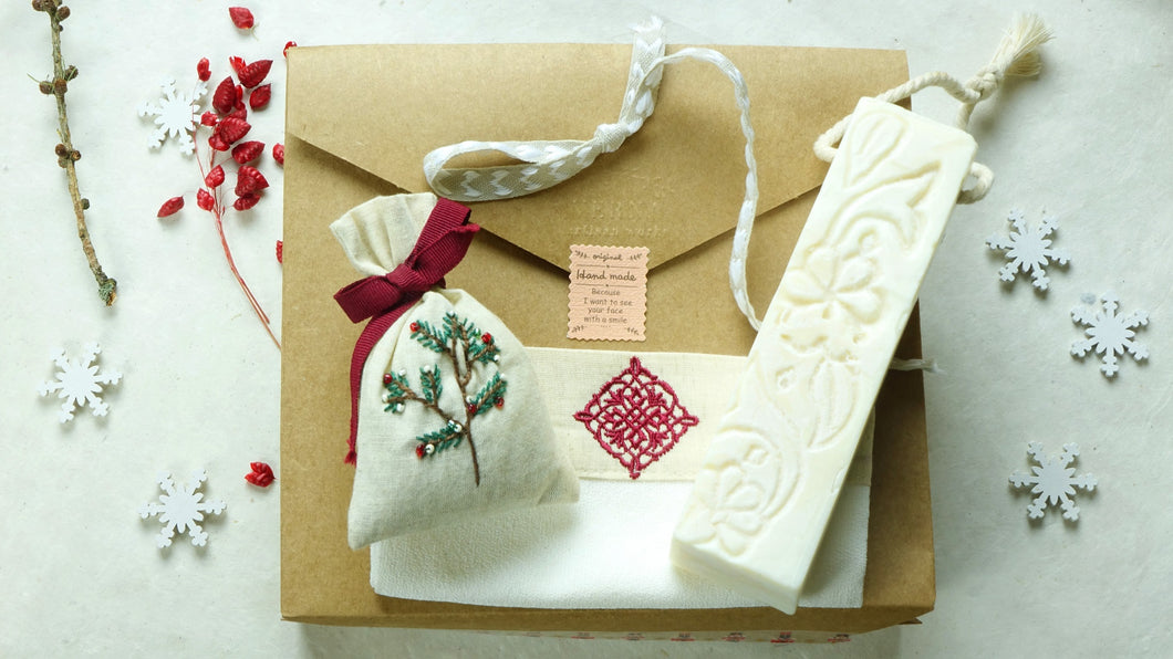 Botanical Wellness Letterbox Gift Set - Verna Artisan Works