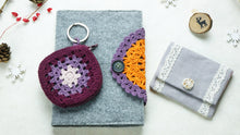 Load image into Gallery viewer, Crochet Stationary Notebook Letterbox Gift Set - Verna Artisan Works