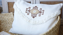 Load image into Gallery viewer, Handmade Cross Stitch Cushion - Verna Artisan Works