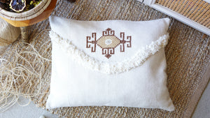 Handmade Cross Stitch Cushion - Verna Artisan Works