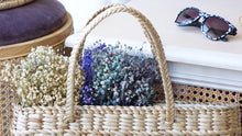 Load image into Gallery viewer, Rattan Straw Bag - Verna Artisan Works