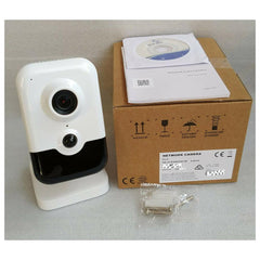 4 MP Indoor WDR Fixed Cube Network Camera NC324-CU - LINOVISION