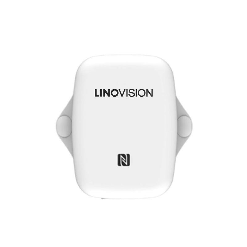 LoRaWAN Wireless Temperature & Humidity Sensor with Battery and Waterproof - LINOVISION