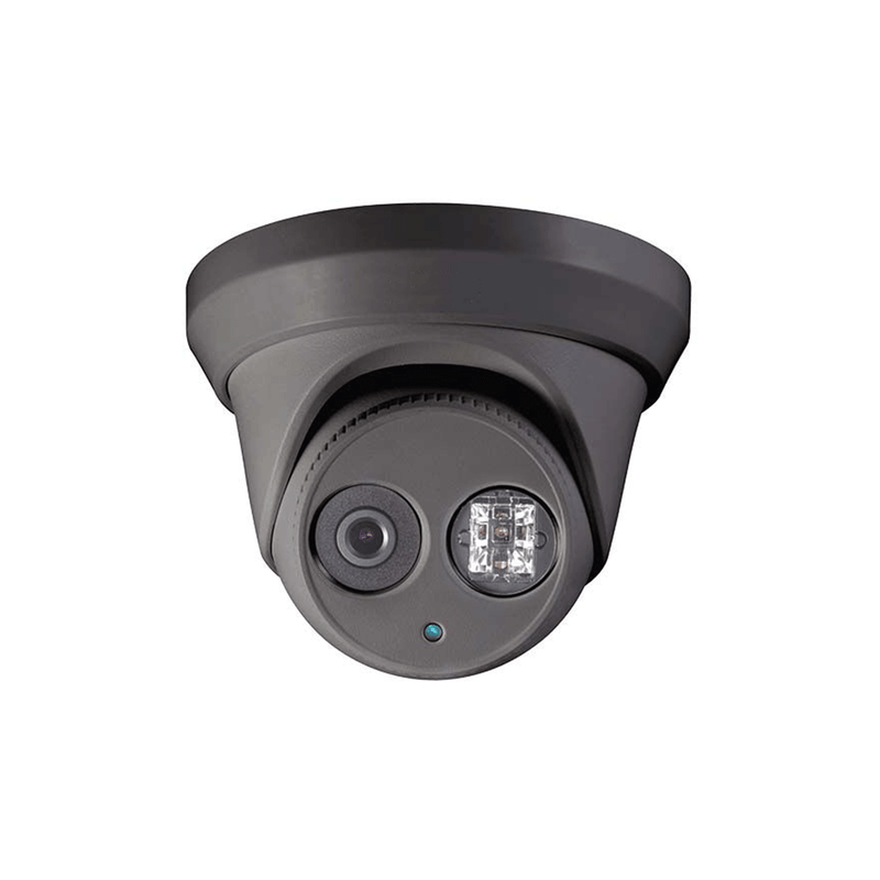 2MP WDR HD-TVI turret dome camera black 2.8mm EXIR 132ft (AC334-FD4MB) - LINOVISION