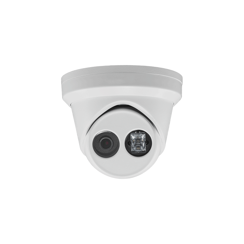 6MP H.265 IP turret dome camera 120dB WDR 4mm fixed lens EX 100ft DS-2CD2363G0-I - LINOVISION