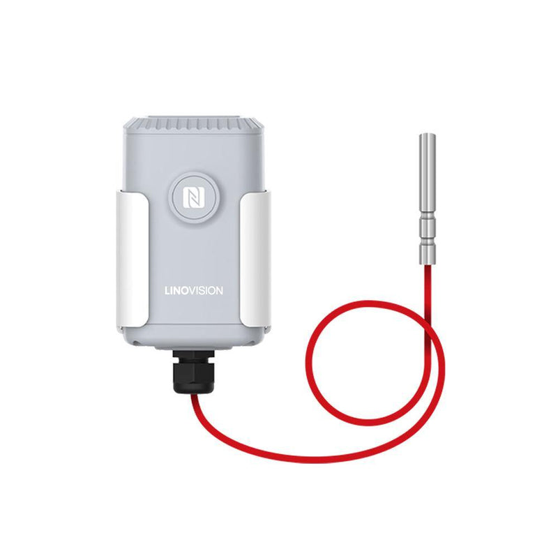 LoRaWAN Wireless Industrial Temperature Sensor with Range from -200 to 800°C - LINOVISION