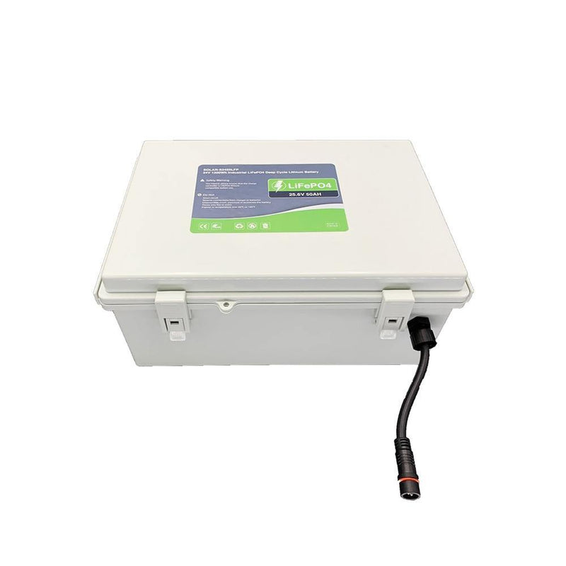 24V 50Ah High Performance LiFePO4 Deep Cycle Lithium Battery - LINOVISION