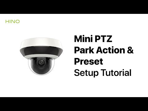Hikvision 4MP HD Mini PTZ IP Camera DS-2DE2A404IW-DE3 2.8-12mm IR 20M 4X Zoom with PoE H.265+ CCTV Video Surveillance - LINOVISION