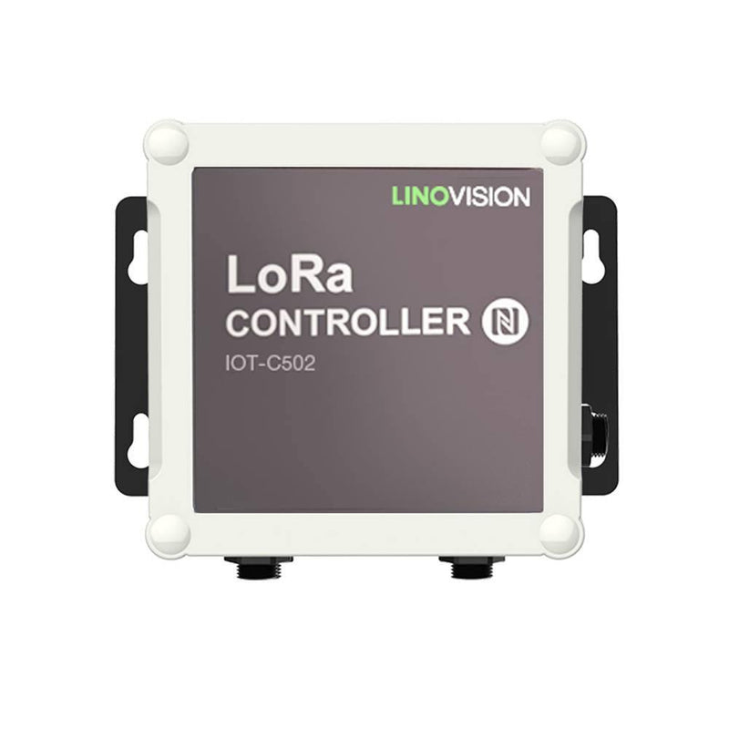 LoRaWAN Wireless IO Controller support Modbus RS485/RS232 and Analog Input - LINOVISION