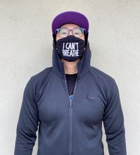 Load image into Gallery viewer, 'I Can't Breathe' Face Mask