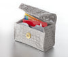 New!  Grey Mist Croc Card Cubby