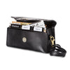 NEW! Coupon Cubby Black Croc/Leatherette Combo