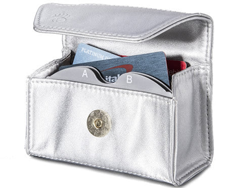 NEW! Limited Edition Silver Card Cubby