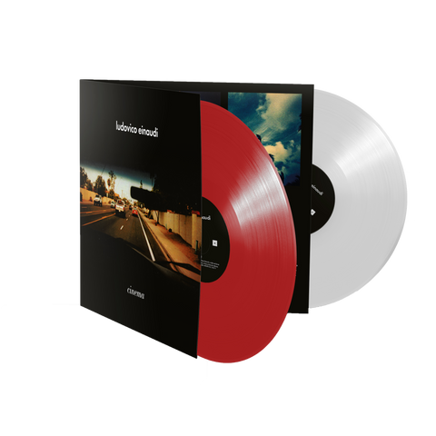 Ludovico Einaudi: Cinema - Exclusive Red and White Vinyl 2LP