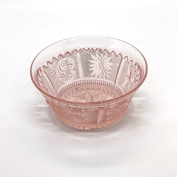 Pink Depression Glass Bowl - Opportunity Shop DC