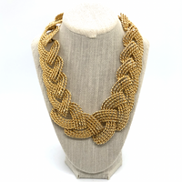 Vintage Twisted Multilink Necklace - Opportunity Shop DC