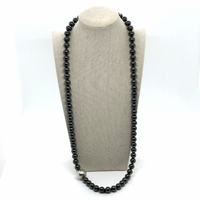 Tiffany Hematite and Sterling Silver Necklace - Opportunity Shop DC
