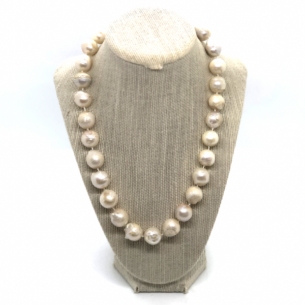 Baroque Pearl Necklace - Opportunity Shop DC