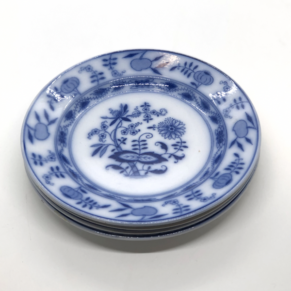 Blue and White Villeroy & Boch Transferware Plates, 4 - Opportunity Shop DC